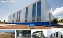 Lucrari proiectare si executie hala productie cu pod rulant 50tf, BETA SA, Buzau